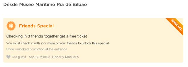 Oferta Museo Marítimo Bilbo