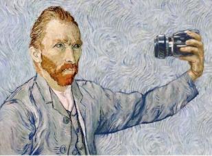 Van Gogh ens convida a autoretratar-nos