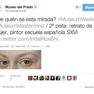 #MuseumMastermind al Museo del Prado