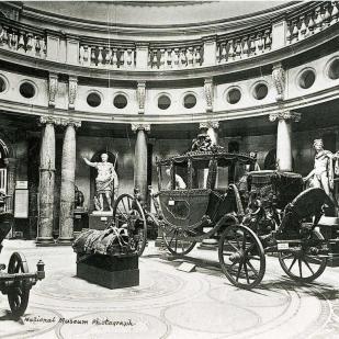 National Museum of Ireland, sala de la rotonda