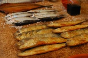 Peix blau llest per vendre