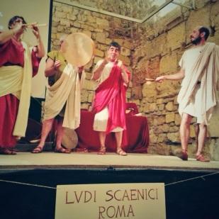 """Els """"Ludi Scaenici"""" de Roma, en plena acció"""
